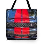 2007 Ford Shelby Gt 500 Mustang Tote Bag