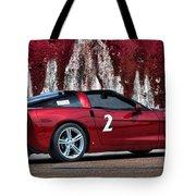2008 Corvette Tote Bag