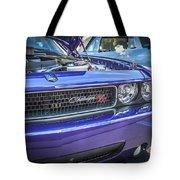 2008 Dodge Challenger Rt Tote Bag