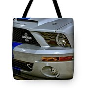 2008 Ford Mustang Shelby Grill Headlight Tote Bag