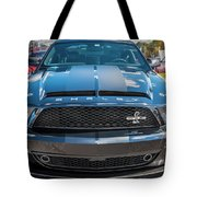 2008 Ford Shelby Mustang Gt500 Kr Painted Tote Bag