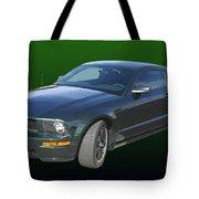 2008 Mustang Bullitt Tote Bag