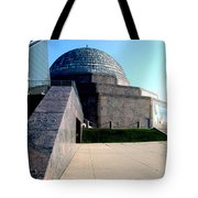 2009 Adler Planetarium With Glass Sky Pavilion II Chicago Il Usa Tote Bag