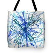 2010 Abstract Drawing 21 Tote Bag