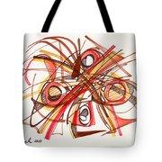 2010 Abstract Drawing 23 Tote Bag