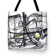 2010 Abstract Drawing 27 Tote Bag