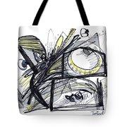 2010 Abstract Drawing 28 Tote Bag