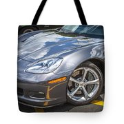 2010 Chevy Corvette Grand Sport Hdr Tote Bag