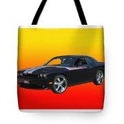 2010 Dodge Challenger Tote Bag