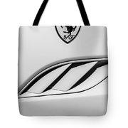 2010 Ferrari California Side Emblem Tote Bag