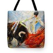 2010 Toro Acrylics 02 Tote Bag
