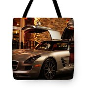2011 Mercedes-benz Sls Amg Gullwing Tote Bag