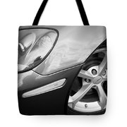 2012 Corvette Grand Sport Bw Tote Bag