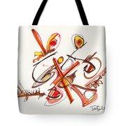 2012 Drawing #23 Tote Bag