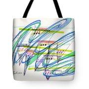 2012 Drawing #9 Tote Bag