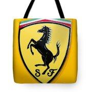 2012 Ferrari 458 Spider Emblem Tote Bag