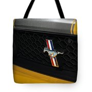 2012 Ford Mustang Boss 302 Tote Bag