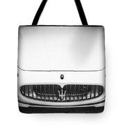2012 Maserarti Gran Turismo S Bw Tote Bag