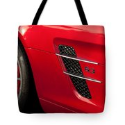 2012 Mercedes-benz Sls Gullwing Wheel Tote Bag