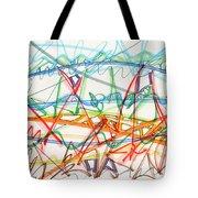 2013 Abstract Drawing #7 Tote Bag