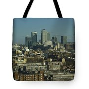 2013 Docklands London Skyline Tote Bag