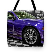 2013 Dodge Charger Tote Bag