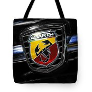 2013 Fiat 500 Abarth Tote Bag