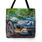 2013 Ford Shelby Mustang Gt 5.0 Convertible Painted   Tote Bag