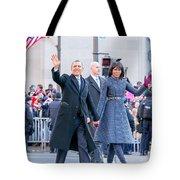 2013 Inaugural Parade Tote Bag by Ava Reaves