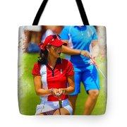 2013 Solheim Cup - Michelle Wie Tote Bag