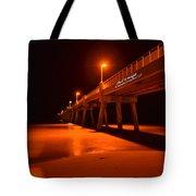 2014 02 06 01 A Okaloosa Island Pier 0195 Tote Bag