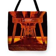 2014 02 06 01 Okalossa Island Pier 0213 Tote Bag