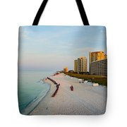 2014 08 05 01 Navarre Beach 100 Tote Bag