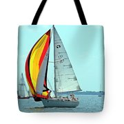 Anemone And Defiant Tote Bag
