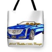 2014 Cadillac Ciel Concept Tote Bag