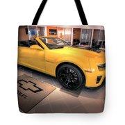 2014 Camaro Convertible Tote Bag
