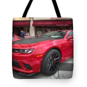 2014 Chevy Camaro Tote Bag