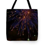 2014 Three Rivers Festival Fireworks Fairmont Wv 1 Tote Bag
