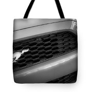 2015 Ford Mustang Prototype Grille Emblem -0092bw Tote Bag