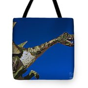 2015 Rose Parade Float Showing A Dragon 15rp039 Tote Bag