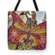 2015 Rose Parade Float With Butterflies 15rp043 Tote Bag
