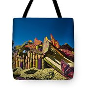 2015 Rose Parade Float With Butterflies 15rp044 Tote Bag