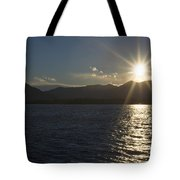 Alpine Lake Tote Bag