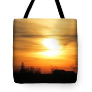 21 Dec 2012 Sunset One Tote Bag