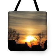 21 Dec 2012 Sunset Two Tote Bag