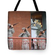 21 Gun Salute Tote Bag
