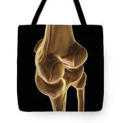 Knee Bones Right Tote Bag