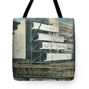 Panama Canal, C1910 Tote Bag