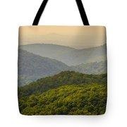 Scenery Around Lake Jocasse Gorge Tote Bag