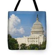 Us Capitol Building Tote Bag